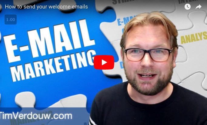 How to send your welcome emails