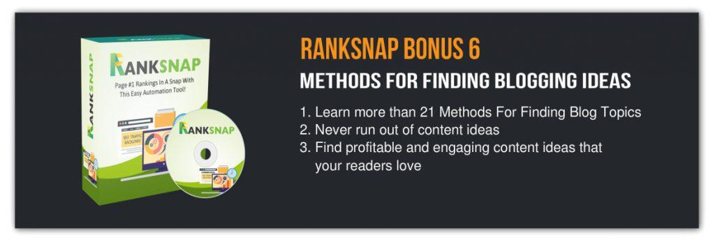 Ranksnap bonus 6
