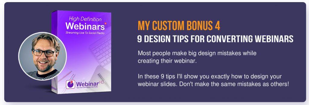 WebinarHD custom bonus 4