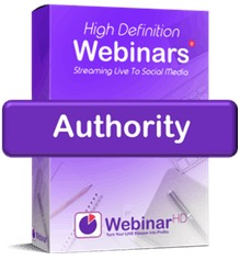 WebinarHD authority