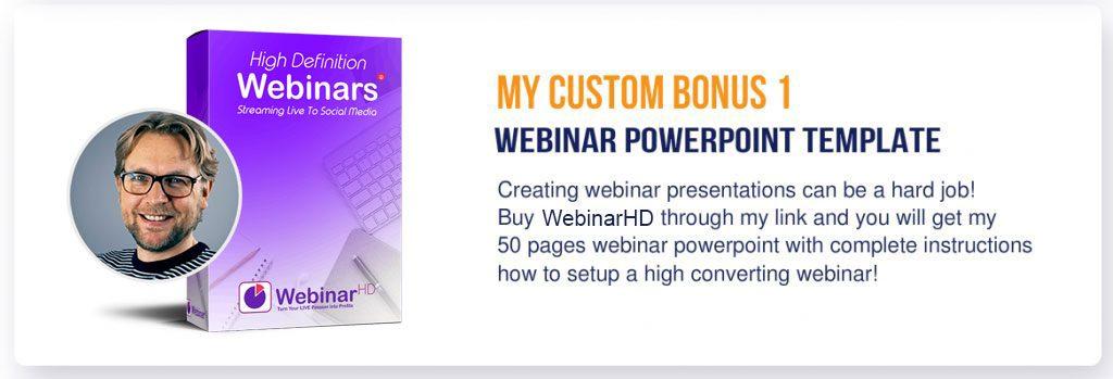 WebinarHD custom bonus 1