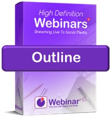 WebinarHD outline