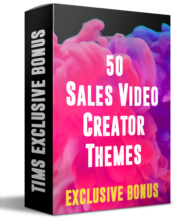 sales video creator bonus 1