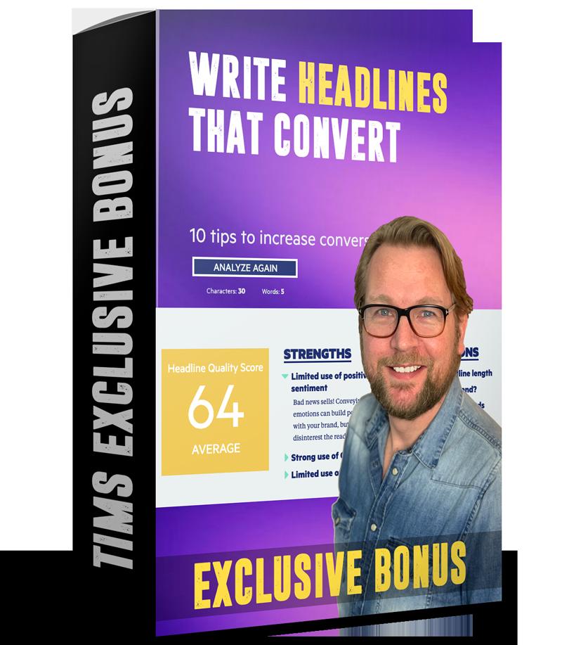 Write headlines