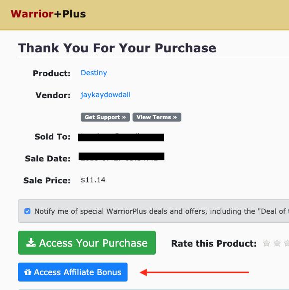 Warriorplus instant download