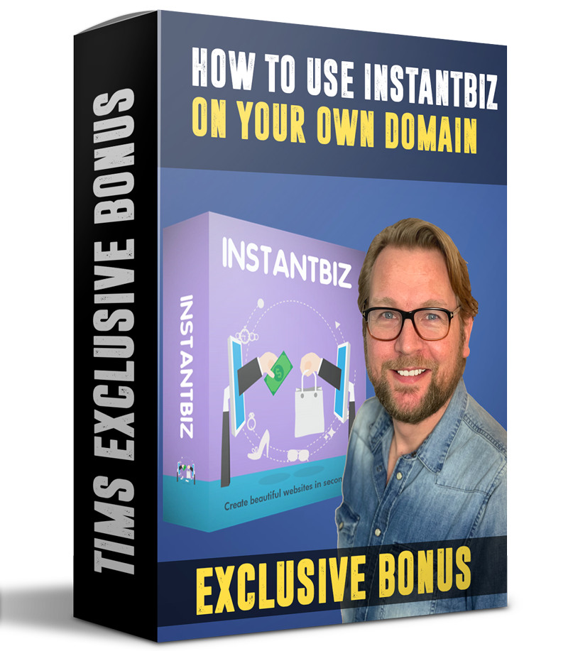 Use instantbiz on your own domain