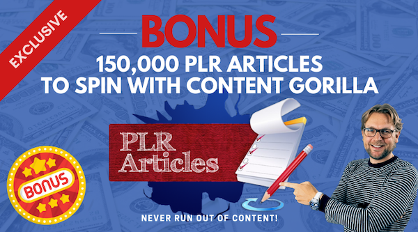 150000 plr articles bonus