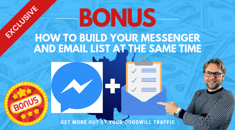 Messenger and list building bonus