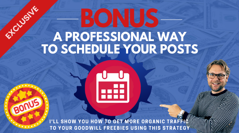 professional way to schedule your posts