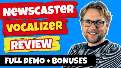 Newscaster Vocalizer Review And Bonuses
