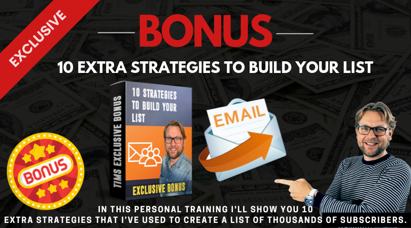 10 strategies to build your list