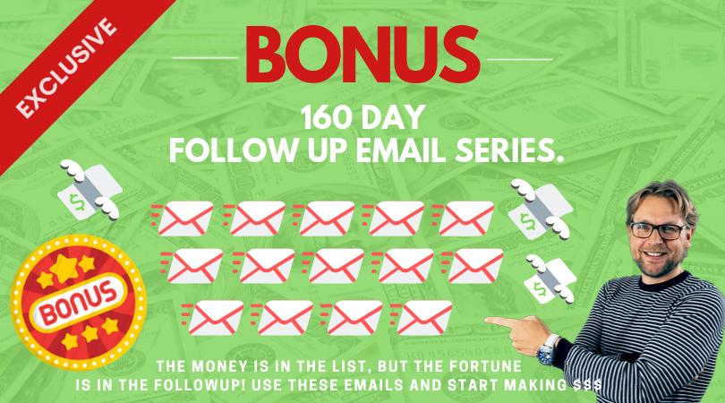 160 day mailvio followup