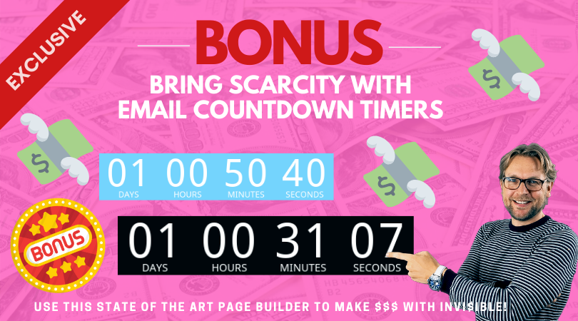 Mailvio Count Down Timers