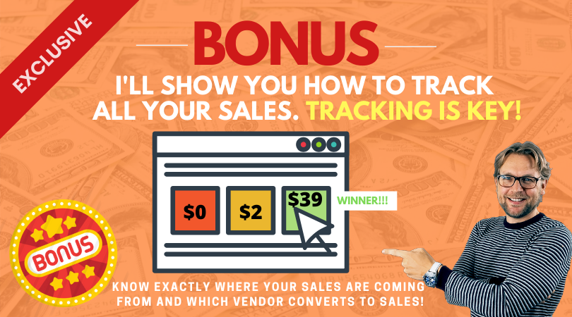 Track your sales
