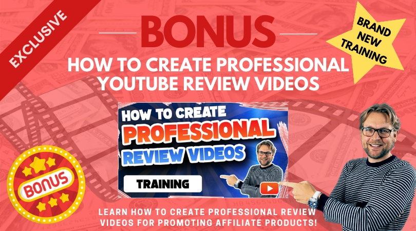 Create professional review videos