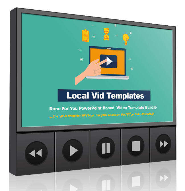 Local video templates